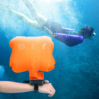 Hot Portable Anti Drowning Lifesaving Bracelet Float Swimming Safety Wristband With Co2 Cylinder Inflatable Bladder Self Rescue