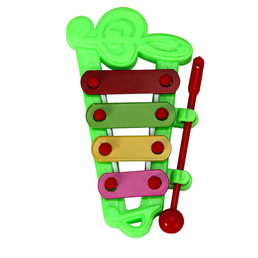 Gorące dziecko Kid 4-Note ksylofon zabawki muzyczne rozwoju mądrości Instrument muzyczny prezent dla dziecka 11.5cm X 6cm SEP 01