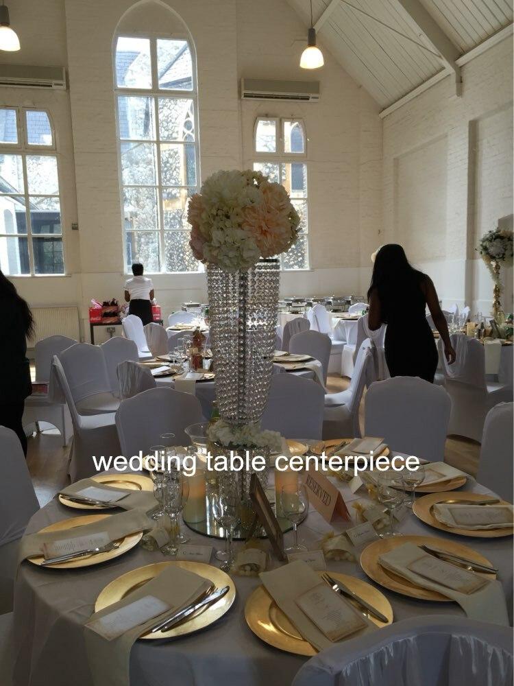Latest Wedding Decoration 10pcslots Acrylic Wedding Centerpiece