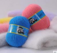 Free Shipping Sheep Mink Yarn Macrotrichia Yarn Marten Velvet Yarn Mink Cashmere Yarn Hand Knitted 1order