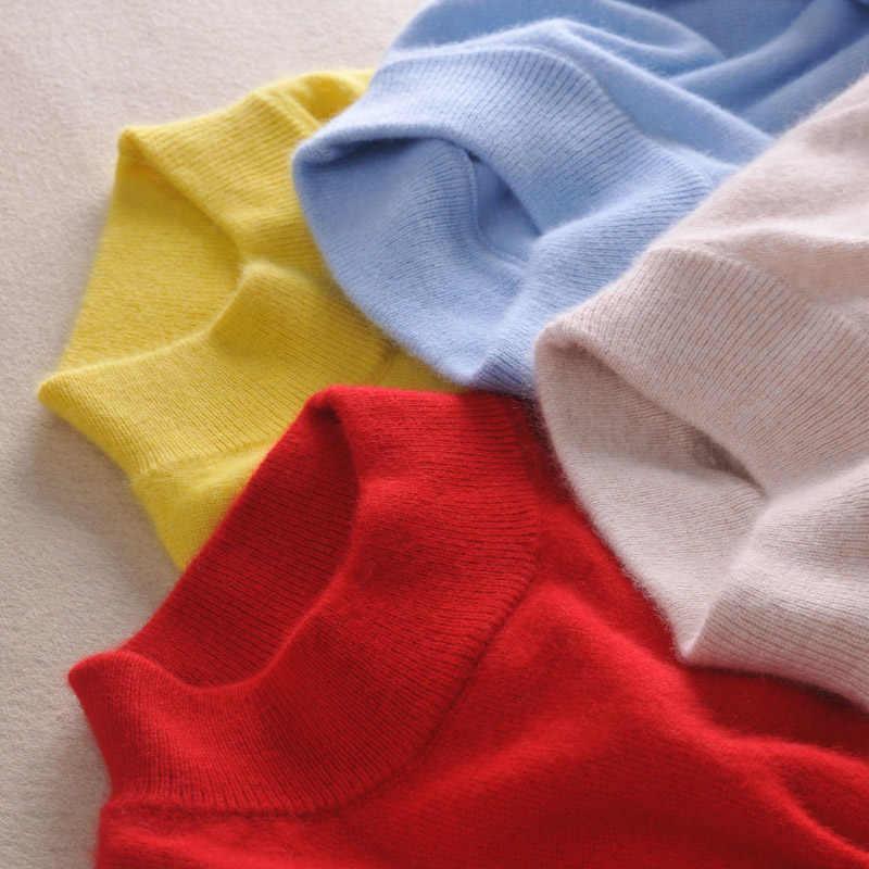 高品質カシミヤセーター女性ファッション秋冬女性ソフトで快適な暖かスリムカシミヤプルオーバー