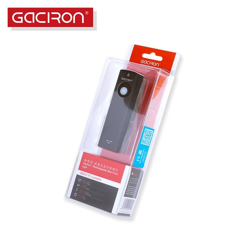 Gaciron Heißer Verkauf Radfahren Sicherheit Fahrrad Licht 800 lumen taschenlampe IPX6 wasserdichte fahrrad-zubehör