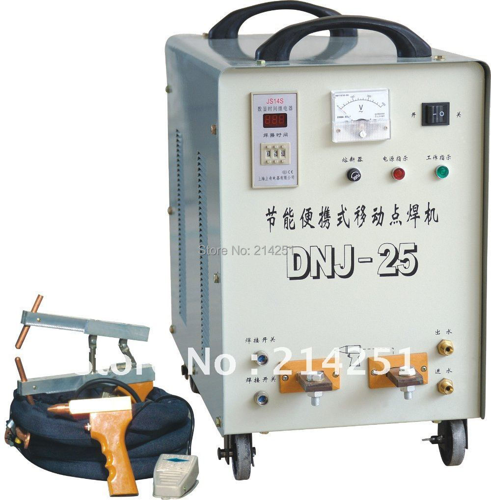 2014 Hot Sale Sale Soldering Iron Solder Pot Nickel For Battery Portable Movable Ac Spot Welding Machine