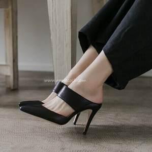 Best 9cm high heeled slipper slipper slipper pumps list 53813a