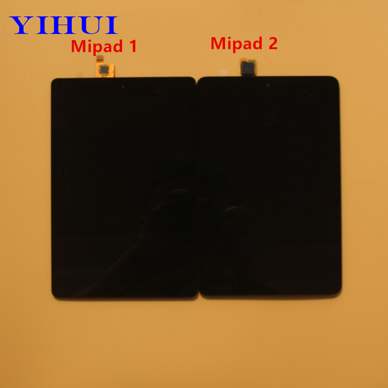 YIHUI Touch Screen Digitizer Glass+LCD Display Assembly Panel Replacement For Xiaomi Mi Pad Mipad 2 Mi Pad 1 LCD b101xt01 1 m101nwn8 lcd displays
