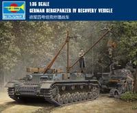 Trompet model 1/35 Duitse IV tank reparatie auto 00389 model Assemblage