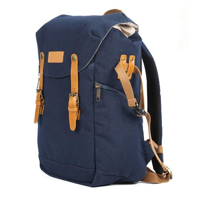 Prowell su geçirmez kamera sırt çantası dayanıklı DSLR fotoğraf çantası açık dijital omuzdan askili çanta için kamera/Lens/flaş işık/Tripod
