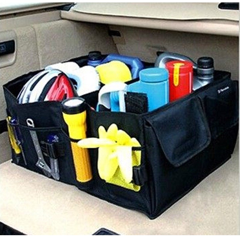 Folding trunk bags box tool grocery font b car b font nets accessories font b car