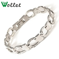 39f42e7cc276 2015 Gift High Quality White Shell Nano Hematite Germanium Stainless Steel  Jewelry Bracelets Brand