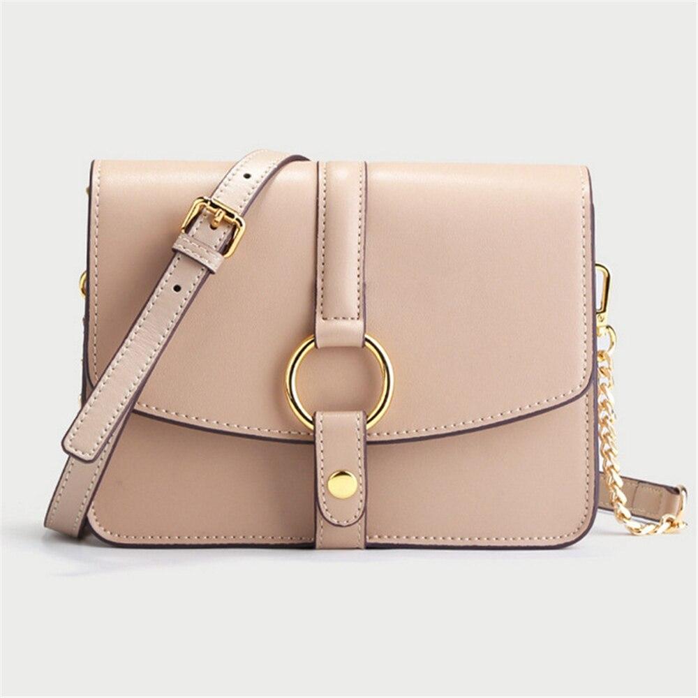 Sweet Style Women Crossbody Bag Fashion Designer Brand Messenger Bag Split Leather High Quality Shoulder Bag