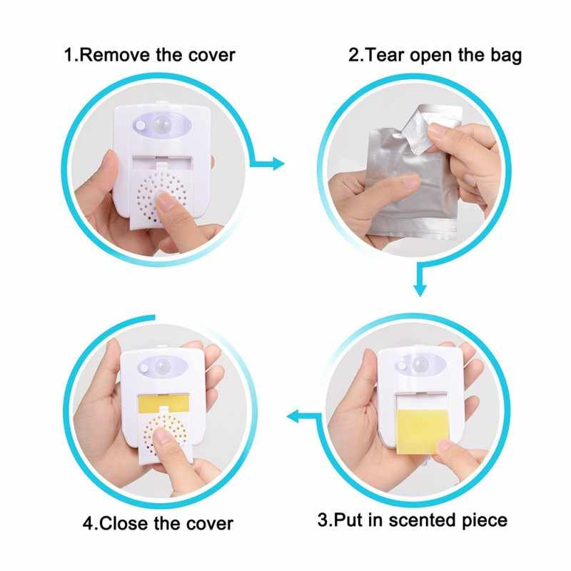 Авто-зондирование Туалет Свет светодиодный ночник датчик движения подсветка для унитаз для ванной комнаты 16 цветов WC ночник для ребенка