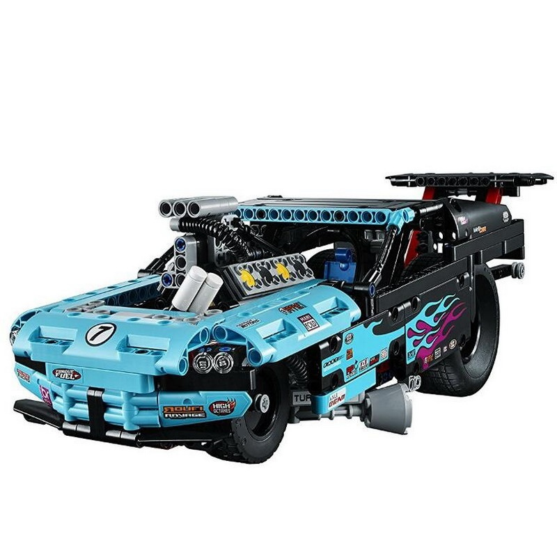 38000 LELE Technic City Series Drag Racer Car Model Building Blocks Classic Enlighten Figure Toys For Children Compatible Legoe b1600 sluban city police swat patrol car model building blocks classic enlighten diy figure toys for children compatible legoe