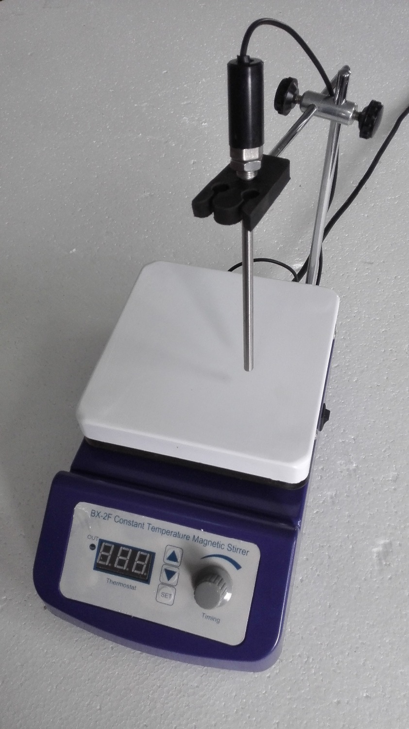 Digital Magnetic Stirrer, 17x17cm Hot Plate, 4000ml Capacity, Temperature Control, 110V or 220V cybernetics or control