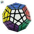 Shengshou Megaminx Cubo Aurora (PVC Etiqueta) 3x3x3 Cubos de Velocidad Cubo Mágico Rompecabezas Profesional Especial juguetes