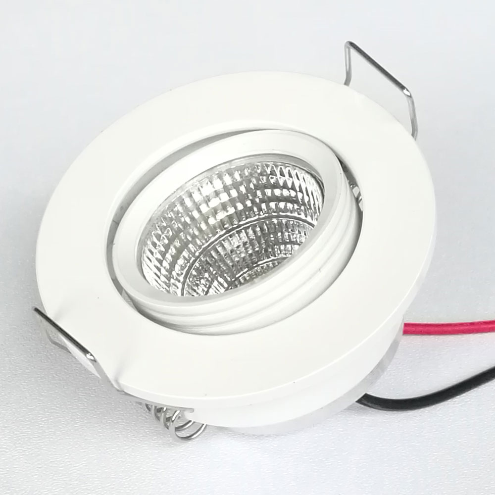 3w Downlight Change Direction Small Recessed Light Ceiling