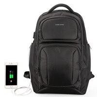 Kingsons большой Ёмкость рюкзак anti theft Рюкзаки Сумки на плечо Для мужчин ноутбук рюкзак дорожная сумка студент школьная сумка