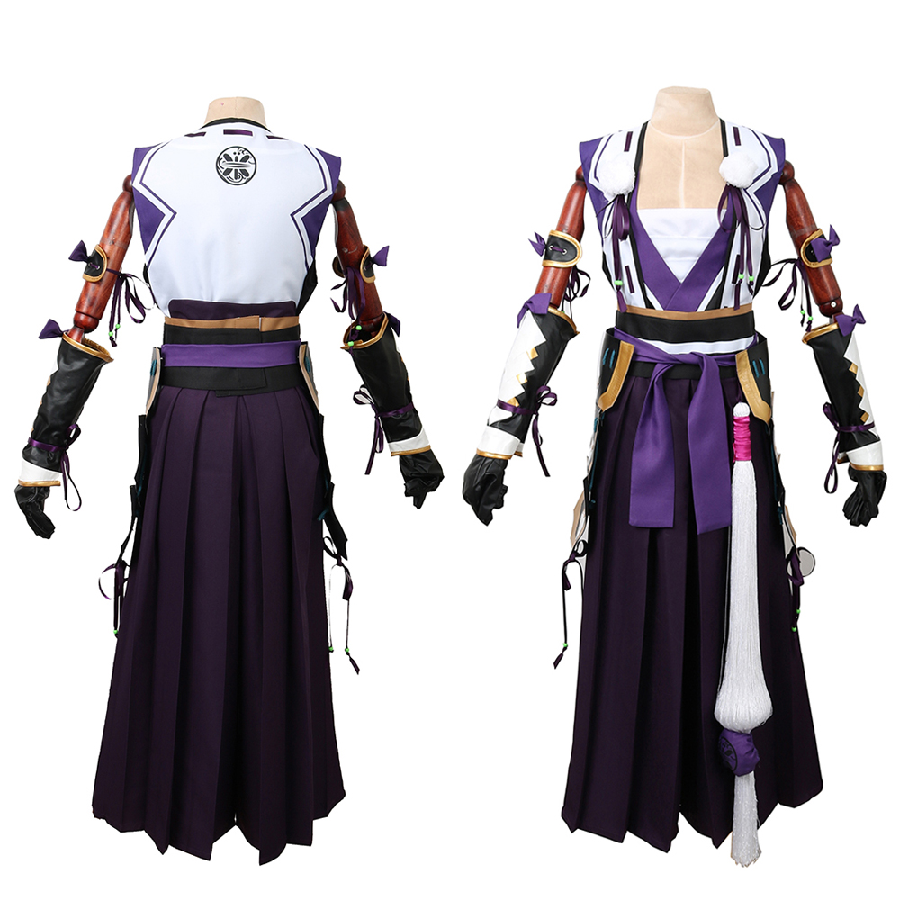 CGCOS Express! Touken Ranbu Online Tonbokiri Uniform Coat Dresses Anime Game Cosplay Costume Halloween Christmas Full set New