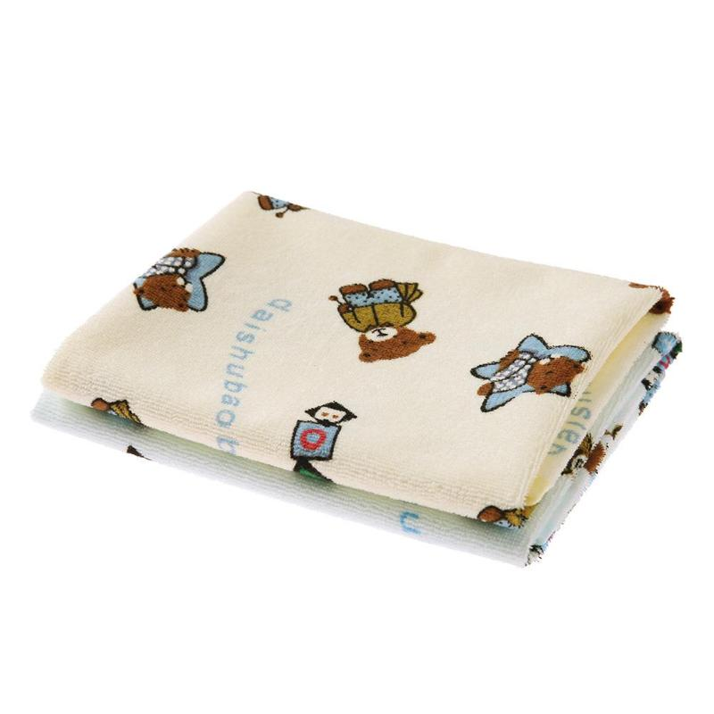 2pcs Baby Waterproof Pads Diapers Mattress Reusable Soft Cotton Changing Covers Mat Children Game Floor Mats
