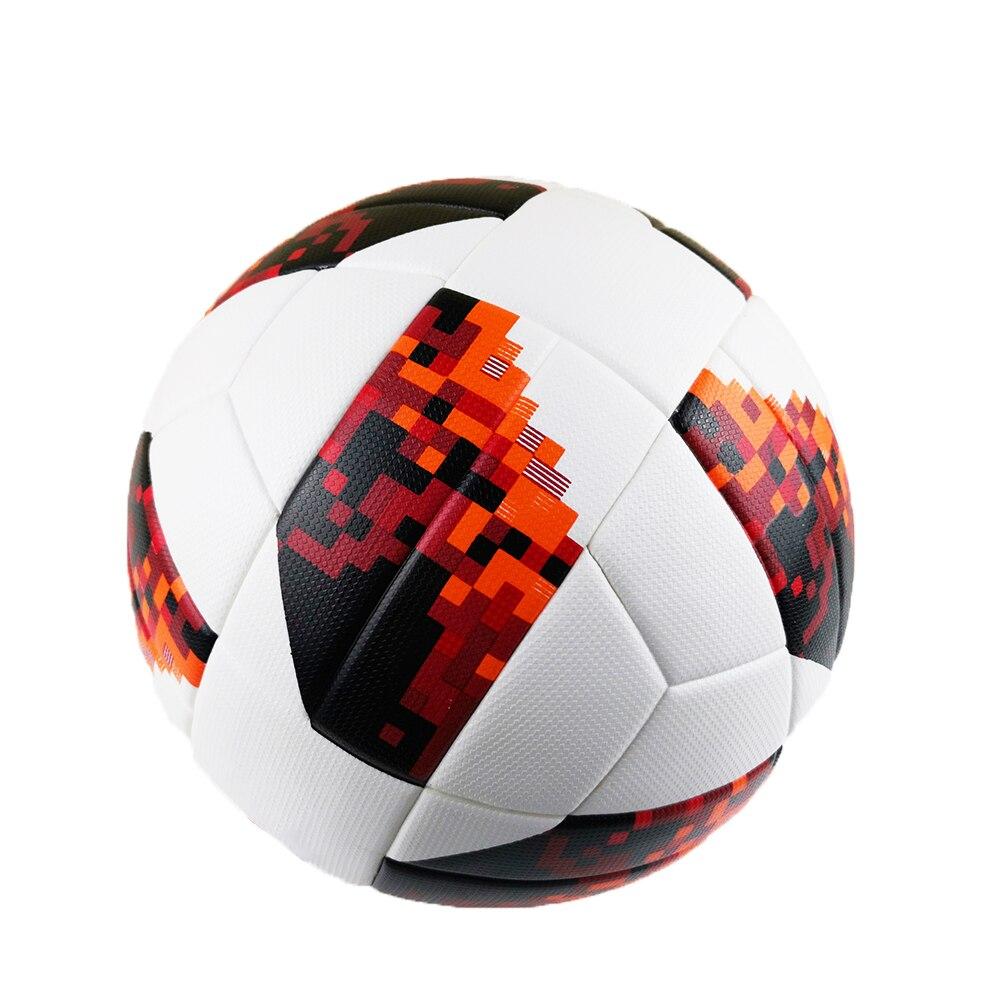 PU pelota de fútbol de tamaño oficial 5 antideslizante Durable resistente pelota de fútbol deporte al aire libre suave chico bolas de entrenamiento