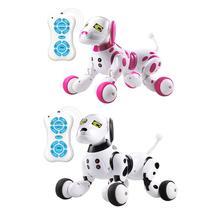 DIMEI подарок на день рождения RC Zoomer собака 2.4g беспроводной пульт дистанционного управления Контроль умная собака электронная собака обучающая детская игрушка робот игрушки