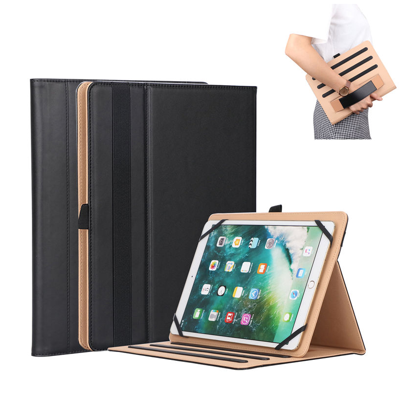 Universal Case for 7.9 8.0 9.7 <font><b>10</b></font> <font><b>10</b></font>.1 <font><b>10</b></font>.<font><b>5</b></font> Inch Tablet Cover for <font><b>iPad</b></font> <font><b>Pro</b></font> Air 2018 Samsung Huawei PU Leather Stand <font><b>Funda</b></font> Shell image