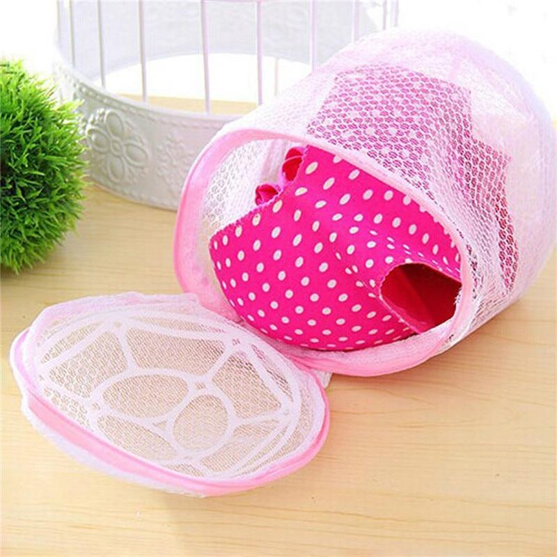 VOGVIGO Lingerie Washing Home Use Mesh Clothing Underwear Organizer Bag Useful Net Bra Wash zipper Laundry