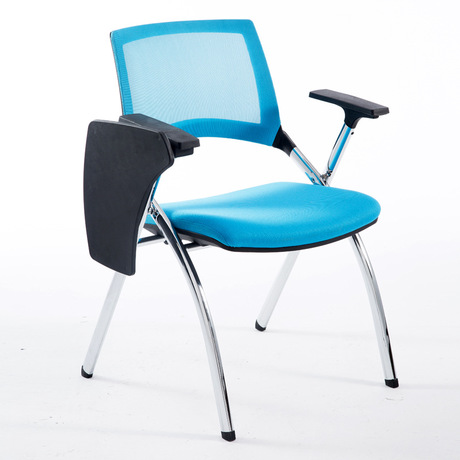 Conference Chair Commercial Furniture Office Furniture mesh metal folding chair with writing board training Chair office chair Conference Chair Commercial Furniture Office Furniture mesh metal folding chair with writing board training Chair office chair