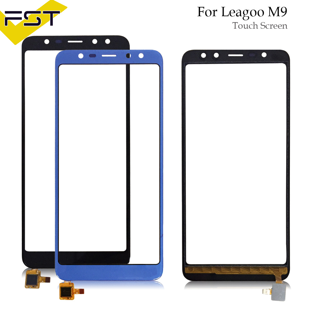 5,5 ''Schwarz/Blau Getestet Gut Touchscreen Digitizer Panel Für Leagoo M9 Touch Panel Front Glas Objektiv Sensor touchscreen