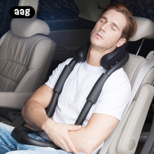 Portable Neck Massage Pillow Ergonomic Adjustable foam memory travel pillow Office Airplane Car Home Relaxing Nap body