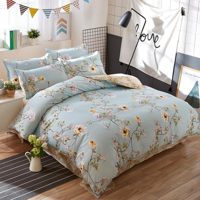 Dandelion Home textile Bedding Set King Queen Full twin ...