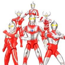 Ultraman Таро семь Джек Ace отец ультра милые фигурки ПВХ Кукла Коллекция Фигурки игрушки-модели Подарочные