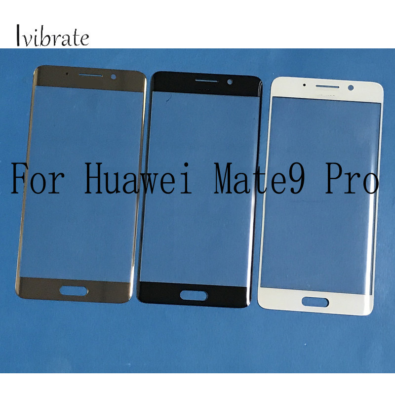 2pcs For Huawei Mate9 Pro Curved Touch Screen Mate 9 Pro Mate9Pro Digitizer Surface TouchScreen Glass panel Without Flex Cable