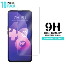 10 Pcs Tempered Glass For OPPO F11 Pro Screen Protector 2.5D 9H Protective Film 6.53