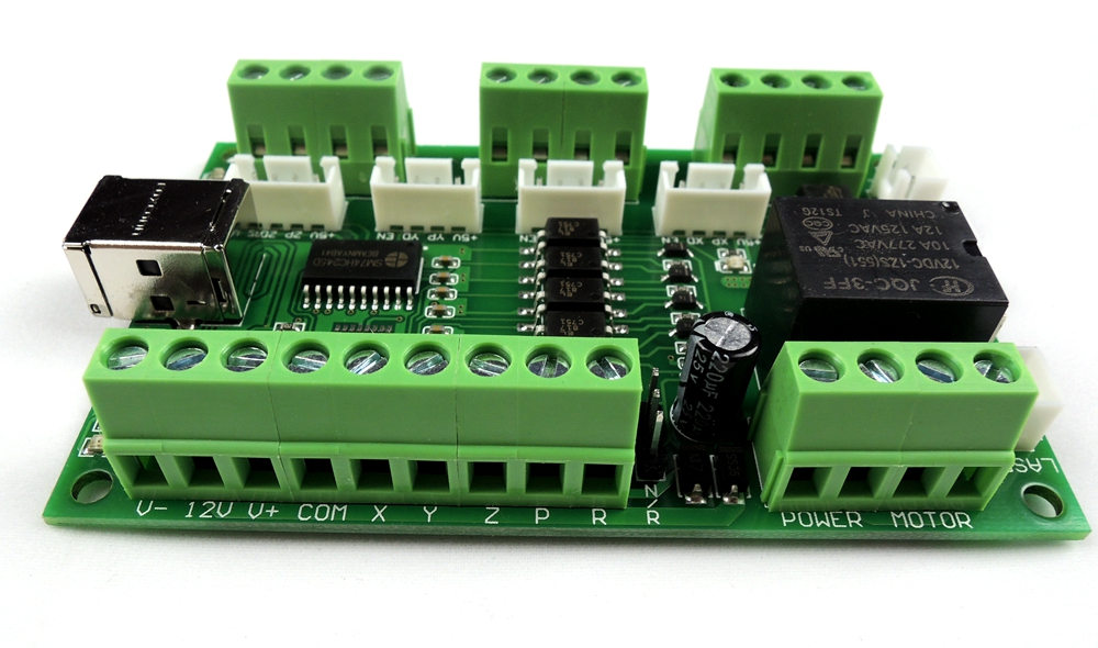 Image 3 - GRBL USB port Laser control board , can external connect nema23 nema34 stepper motor driver for more big laser engraving machine-in Motor Driver from Home Improvement
