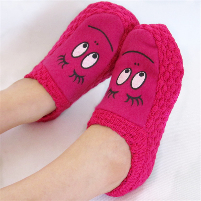 2017 New Fashion Plush Women Indoor Slippers Warm Slippers Shoes Plus Size Autumn Winter  House Bedroom Flats Comfortable Socks цена и фото