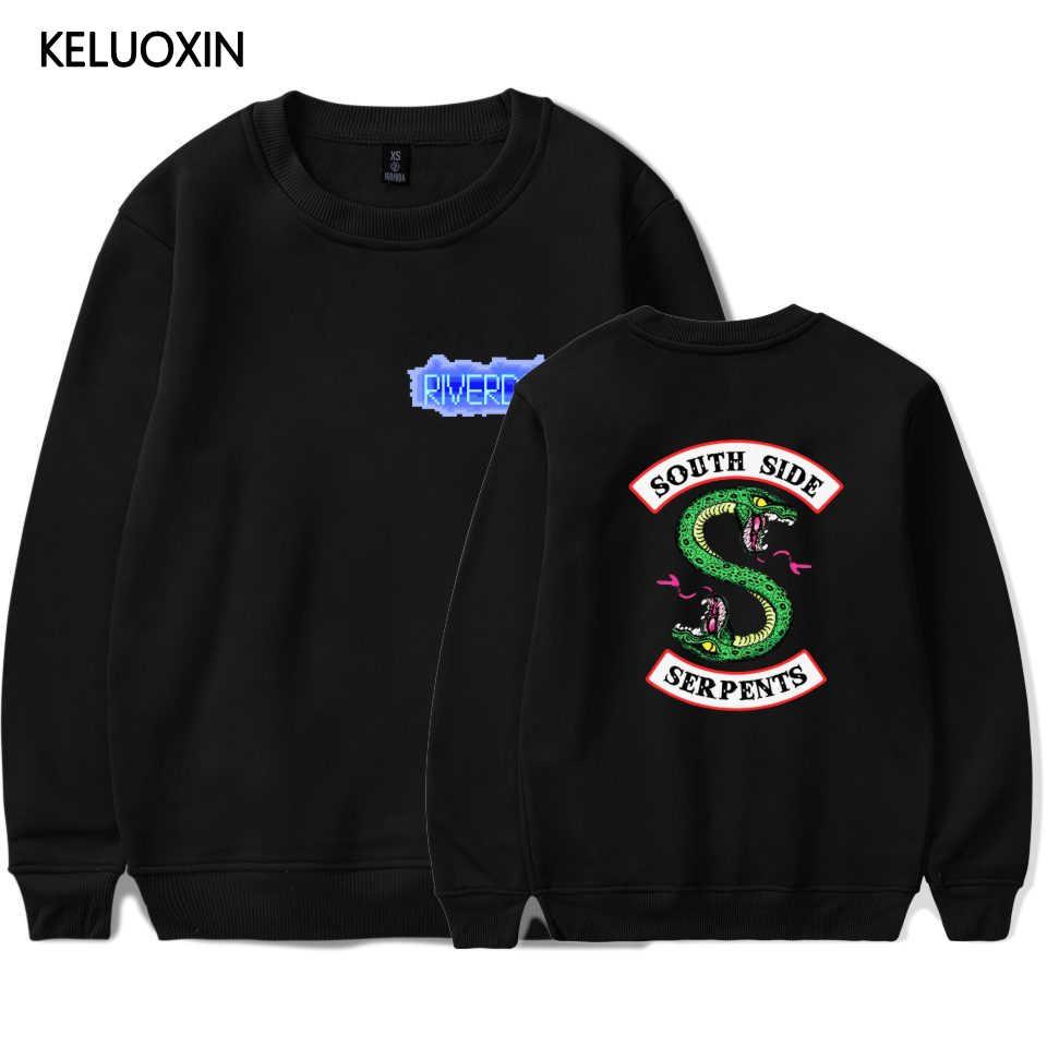 KELUOXIN Riverdale Hoodies Sweatshirt Women Men Streetwear Pullover Ladies Fleece Tracksuit American TV Riverdale Sudadera Mujer