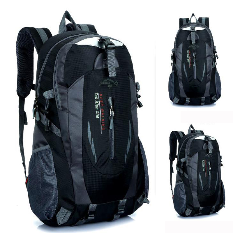 Men <font><b>Backpack</b></font> mochila masculina Waterproof Back Pack Designer <font><b>Backpacks</b></font> Male Escolar High Quality <font><b>Unisex</b></font> Nylon bags Travel bag image