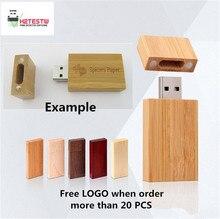 Natural Wooden USB 3.0 Flash Drive External Storage USB Flash Memory Stick Gift USB Key Pen Drive 64GB 32GB 16GB 8GB 4GB