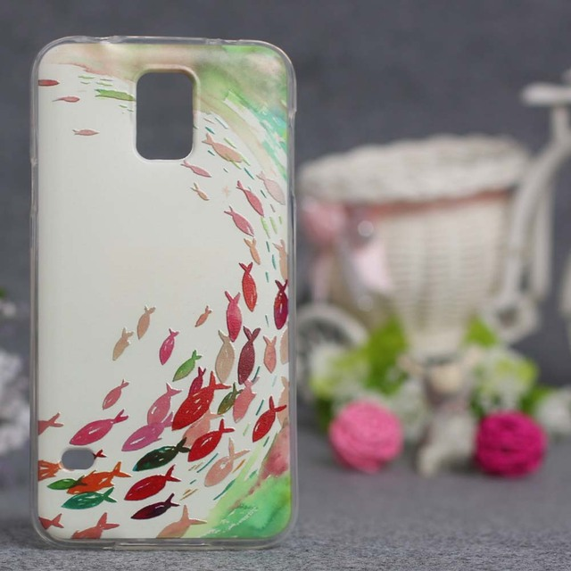 Luxury 3D Relief Case For Samsung S5 Phone