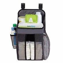 Детская кроватка детская кровать висячая сумка портативный водонепроницаемый подгузники Органайзер прикроватный пеленки хранения колыбель сумка постельные принадлежности