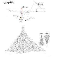 Fishing Net Design Copper Spring Shoal Fishing Net Netting Fishing Tackle-K624