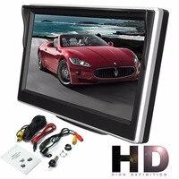 5 дюймов 800*480 TFT ЖК-монитор высокой четкости для камеры заднего вида автомобиля