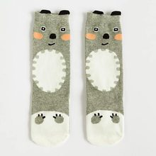 0-3Y Lovely Cute Cartoon Pusheen Cat Fox Kids baby Socks Knee Girl Boy Baby Toddler Socks Animal Infant Soft Cotton Socks Baby(China)