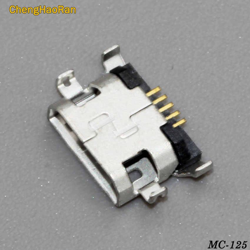 Banghaoran 2 piezas micro mini usb puerto de carga jack conector para Lenovo A319 A536 A6000 A6000T A6010 Vibe A859 p2 P2C72