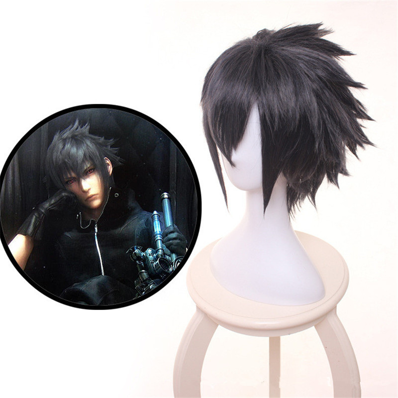 New Anime Final Fantasy XV FF15 FFXV Brotherrhood Final Fantasy XV Noctis Lucis Caelum Cosplay costume Wig Hair Cosplay Wig