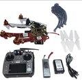 F02192-S 4-axis F450-V2 Aeronave RC Quadrocopter Helicóptero RTF Quadro GPS APM2.8 AT10 TX/RX Bateria