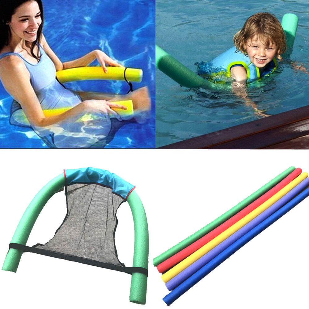 1PCS Floating Chair Pool Net Sling Mesh Float Chair Net For Swimming Pool Party Kids Adult DIY Bed Seat Water Relaxation