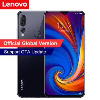 Lenovo Z5S smartphone 4GB RAM 64GB ROM Otac-core 6.3inch SDM710 3300mAH 2.2GHz ZUI 10.0 16.0MP 8.0MP 3Camera Fingerprint ID OTG Lenovo Phones