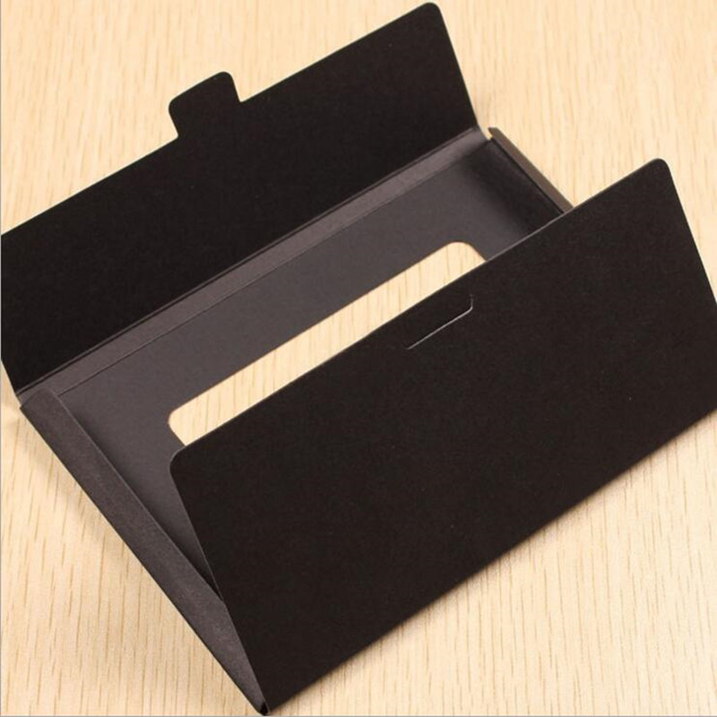 Image 3 - 50PCS/lot Vintage Hollow Design Black / White / Brown Kraft Paper Envelope Postcard Boxes Greeting Photo Post Card Package Bag-in Paper Envelopes from Office & School Supplies
