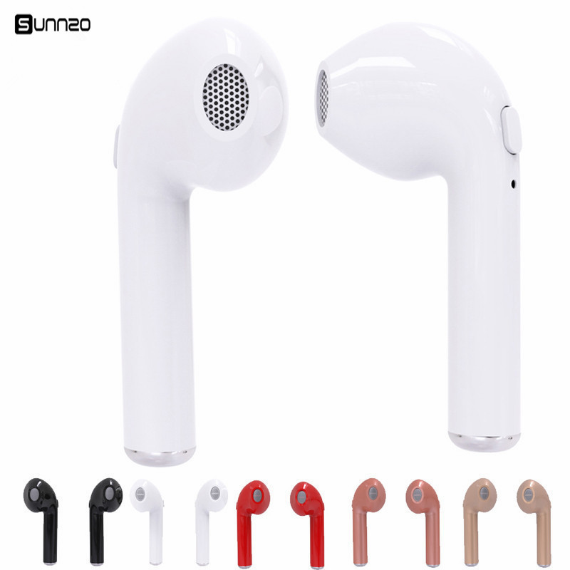 Mini I7s Tws Bluetooth Earphone Wireless Earbuds Stereo Headphone With Microphone For Iphone Android Phone Bluetooth Earphones Headphones Aliexpress